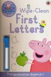 Peppa Pig: Practise with Peppa: Wipe-Clean First Letters - Peppa Pig (2014)