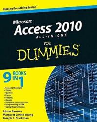 Access 2010 All-in-One For Dummies (ISBN: 9780470532188)