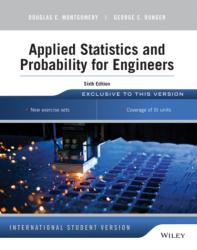 Applied Statistics and Probability for Engineers (2014)