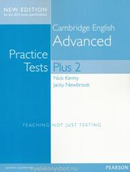 Cambridge Advanced Practice Tests Plus New Edition Students' Book without Key (ISBN: 9781447966210)