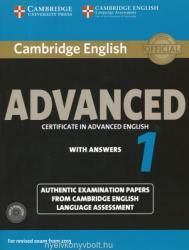 Cambridge English Advanced 1 for Revised Exam from 2015 Student's Book Pack (ISBN: 9781107654969)