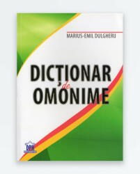 DICTIONAR DE OMONIME (ISBN: 9786066831758)