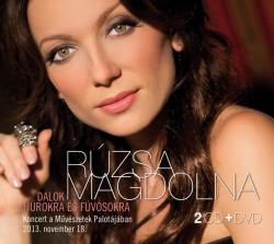 Rúzsa Magdi - Dalok húrokra és fúvósokra - 2CD+DVD (2014)