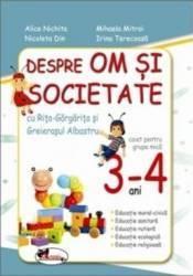 Despre om și societate cu Rița Gărgărița și Greierașul Albastru, 3-4 ani (ISBN: 9786067060959)
