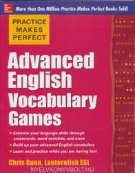 Practice Makes Perfect Advanced English Vocabulary Games (ISBN: 9780071841146)