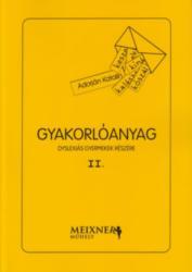 Gyakorlóanyag dyslexiás gyermekek részére II (ISBN: 2050000034596)
