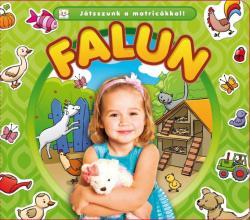 Játsszunk a matricákkal! - Falun (ISBN: 9786155335471)
