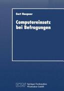 Computereinsatz Bei Befragungen (ISBN: 9783824402069)
