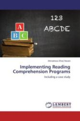 Implementing Reading Comprehension Programs - Ahmadreza Shoa Hasani (ISBN: 9783659281877)