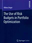 Use of Risk Budgets in Portfolio Optimization (ISBN: 9783658072582)