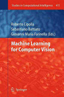 Machine Learning for Computer Vision (ISBN: 9783642446863)