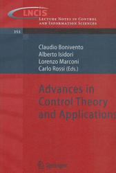 Advances in Control Theory and Applications (ISBN: 9783540707004)