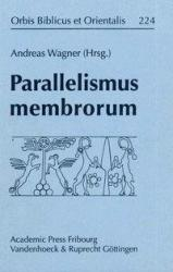 Parallelismus Membrorum - Andreas Wagner (ISBN: 9783525530245)