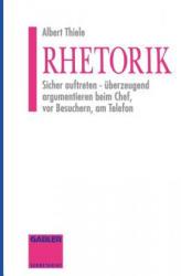 Rhetorik - Albert Thiele (ISBN: 9783409291484)