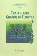 Traffic and Granular Flow '13 (ISBN: 9783319106281)