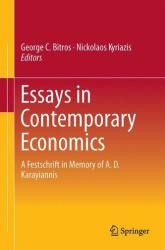 Essays in Contemporary Economics - A Festschrift in Memory of A. D. Karayiannis (ISBN: 9783319100425)