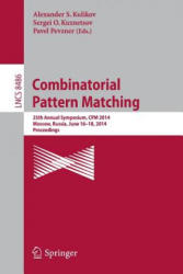 Combinatorial Pattern Matching - 25th Annual Symposium, CPM 2014, Moscow, Russia, June 16-18, 2014, Proceedings (ISBN: 9783319075655)
