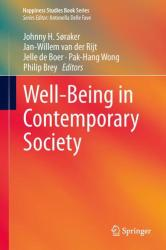 Well-Being in Contemporary Society (ISBN: 9783319064581)