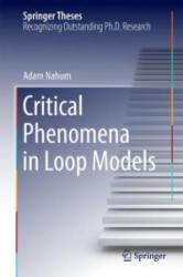 Critical Phenomena in Loop Models - Adam Nahum (ISBN: 9783319064062)