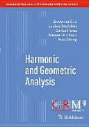 Harmonic and Geometric Analysis (ISBN: 9783034804073)