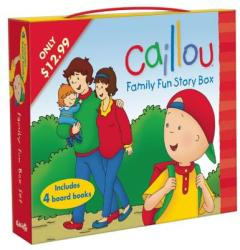 Caillou: Family Fun Story Box (ISBN: 9782897181239)