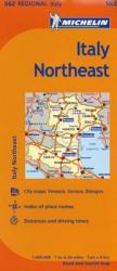 Michelin Italy: Northeast Map 562 (ISBN: 9782067175334)