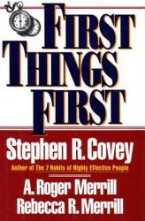 First Things First (ISBN: 9780684802039)