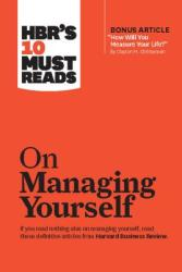HBR's 10 Must Reads on Managing Yourself (ISBN: 9781422157992)