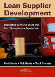 Lean Supplier Development - Chris Harris (ISBN: 9781439811252)