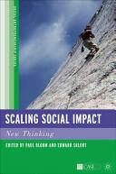 Scaling Social Impact - New Thinking (ISBN: 9780230104372)