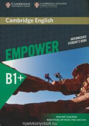Cambridge English Empower Intermediate Student's Book B1+ (ISBN: 9781107466845)