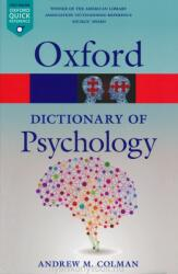 Dictionary of Psychology (ISBN: 9780199657681)