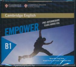 Cambridge English Empower Pre-intermediate Class Audio CDs - Adrian Doff, Craig Thaine, Herbert Puchta, Jeff Stranks, Peter Lewis-Jones, With Graham Burton (ISBN: 9781107466555)