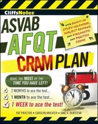 CliffsNotes ASVAB AFQT Cram Plan (ISBN: 9780470598894)
