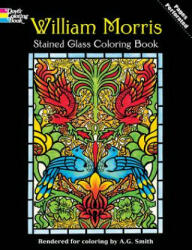 William Morris Stained Glass Coloring Book (ISBN: 9780486410425)