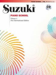 Suzuki Piano School, Vol 4: Book & CD (ISBN: 9780739059906)