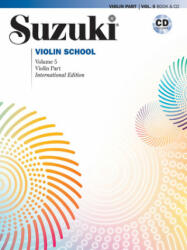 Suzuki Violin School, Vol 5: Violin Part, Book & CD (ISBN: 9780739060759)