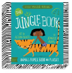 Babylit Jungle Book Playset - Animal Primer Book and Playset (2014)