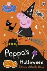 Peppa Pig: Peppa's Halloween Sticker Activity Book - Peppa Pig (2014)