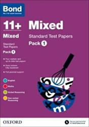 Bond 11+: Mixed: Standard Test Papers (2015)