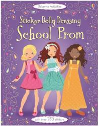Sticker Dolly Dressing School Prom - Fiona Watt (2015)