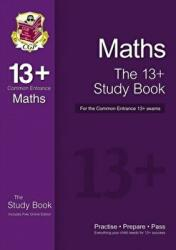 New 13+ Maths Study Book for the Common Entrance Exams - CGP Books (2014)