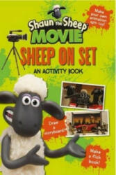 Shaun the Sheep Movie - Sheep on Set Activity Book - Aardman Animations Ltd (2014)