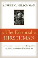 The Essential Hirschman, Paperback (2015)