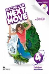 Macmillan Next Move Level 4 - Amanda Cant & Mary Charrington (ISBN: 9780230466524)