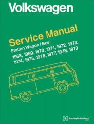 Volkswagen Station Wagon/Bus Official Service Manual: Type 2 (ISBN: 9780837616353)