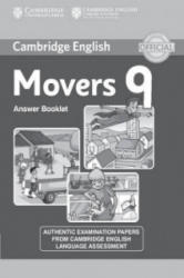 Cambridge English Young Learners 9 Movers Answer Booklet - Corporate Author Cambridge English Language Assessment (ISBN: 9781107464247)
