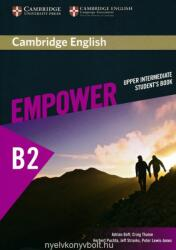 Cambridge English Empower Upper Intermediate Student's Book (ISBN: 9781107468726)
