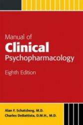 Manual of Clinical Psychopharmacology - Alan Schatzberg (2015)
