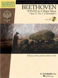 """SONATA IN c-sharp MINOR OP. 27, NO. 2 (""""MOONLIGHT"""") FOR PIANO CD INCLUDED, EDITED BY ROBERT TAUB (ISBN: 9781423427230)"""